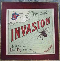 <B>1889 - Ayers - The New Game of Invasion