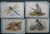 <B>C1880 – Quartette Game - possibly mid European