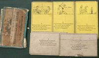 <B> c1850 Gurdber's Poetical and Pictorial Coversation Cards