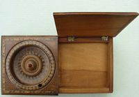 <B>c1840s - Small Table Roulette Board