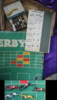 <B>c1925 Dog Derby - Greyhound Racing Game with metal pieces