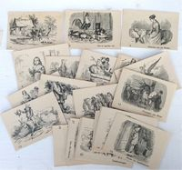 <B> c1890 Hans Christian Andersen related cards