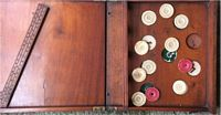 <B>Victorian Table Game registered 21st May 1862 – Shove Hal' Penny Style