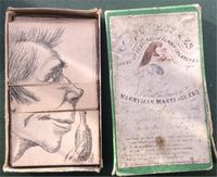 <B>c1850 - Comic Profiles or the changing features of funny creatures, the whole arranged by Merryman Makeface Esq - published by Rock & Co