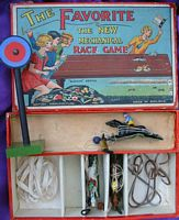 <B>c1930 The Favorite New Mechanical (Horse) Race Game