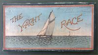 <b>1887 The Yacht Race - Spear